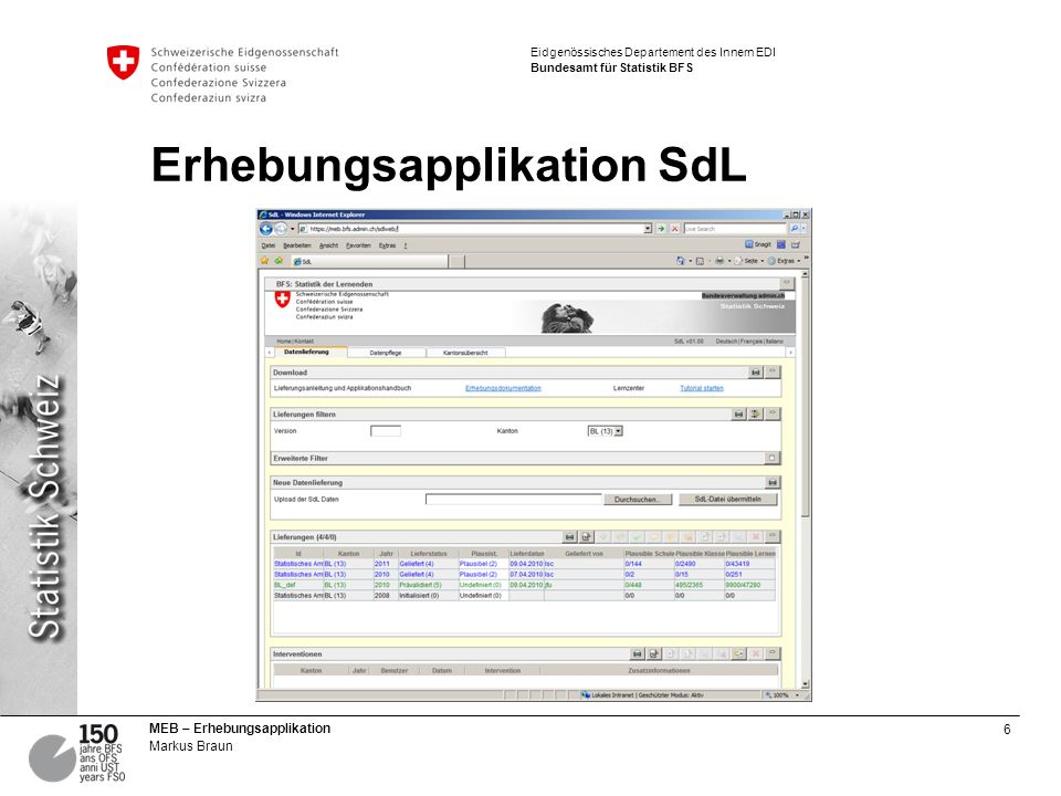 Erhebungsapplikation SdL