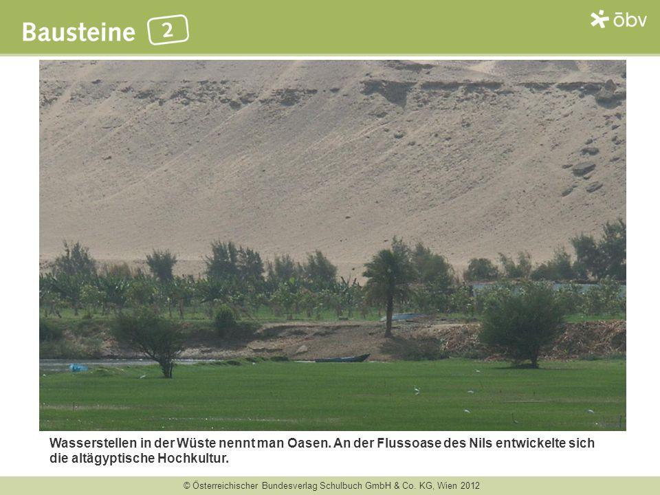 Wasserstellen in der Wüste nennt man Oasen