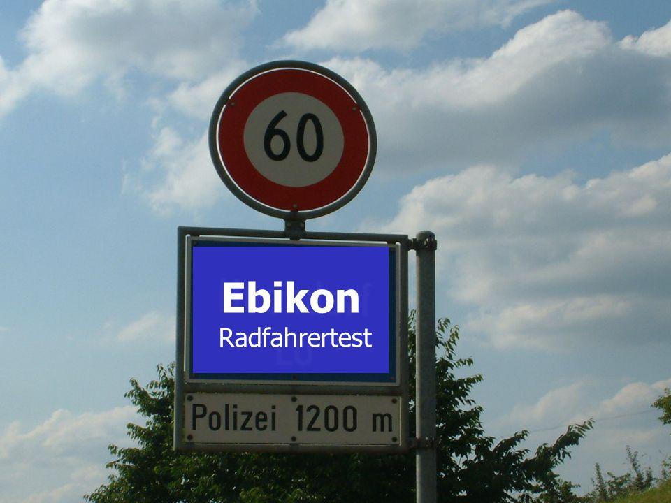 SH Wydenhof Ebikon Radfahrertest Ebikon
