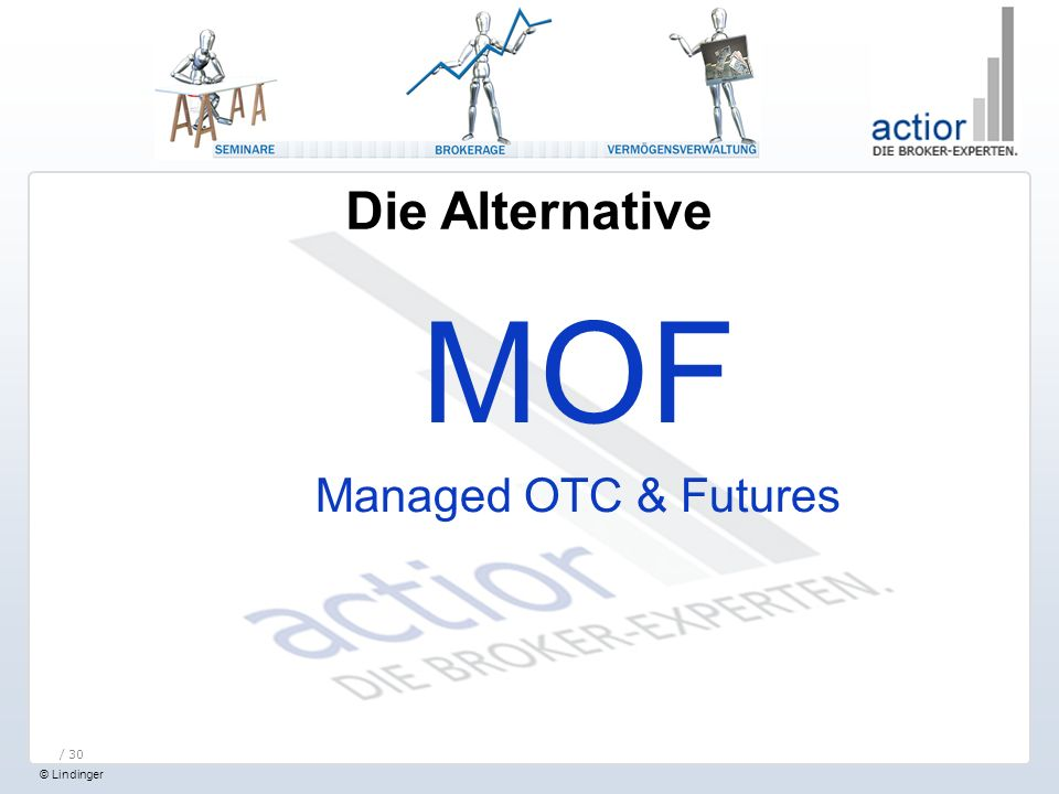Die Alternative MOF Managed OTC & Futures / 30
