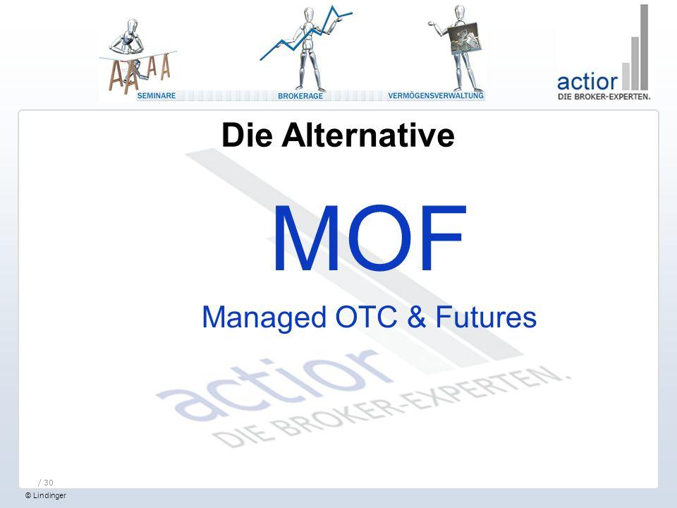 Die Alternative MOF Managed OTC & Futures / 30