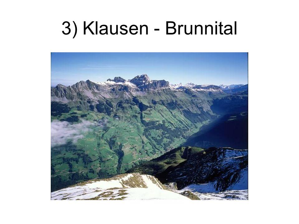 3) Klausen - Brunnital