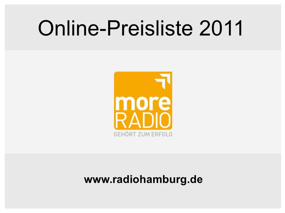 Online-Preisliste 2011 www.radiohamburg.de