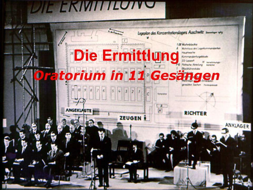 Die Ermittlung Oratorium in 11 Gesängen
