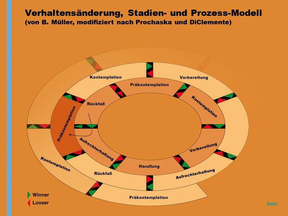 Verhaltensänderung, Stadien- und Prozess-Modell