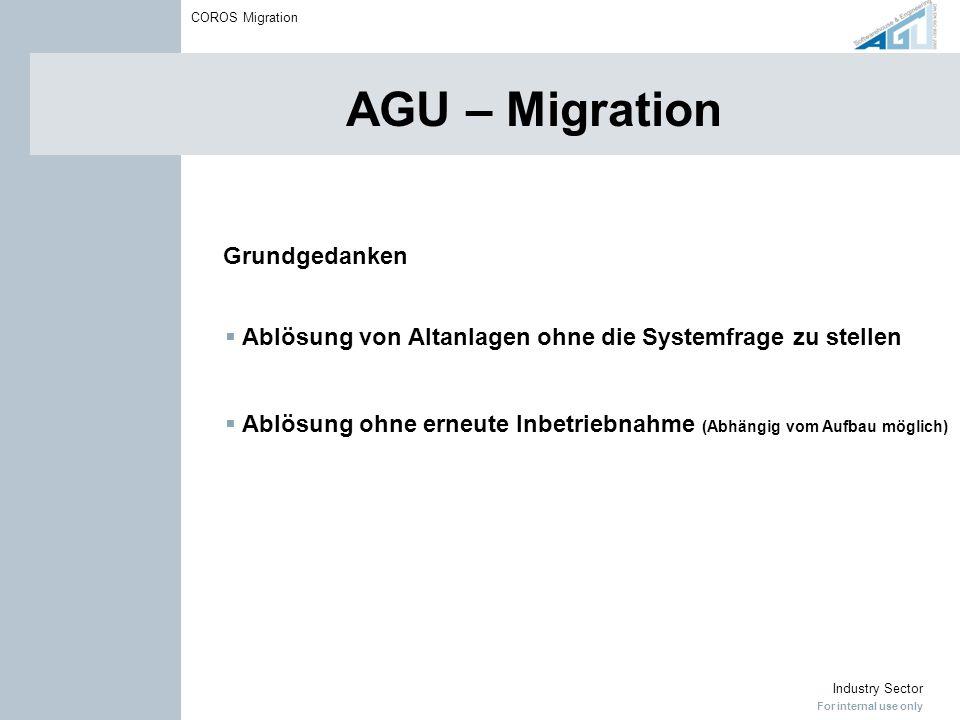 AGU – Migration Grundgedanken