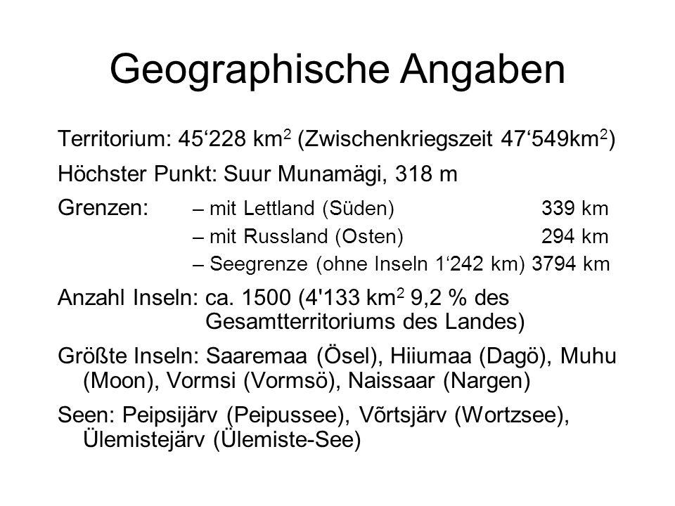 Geographische Angaben