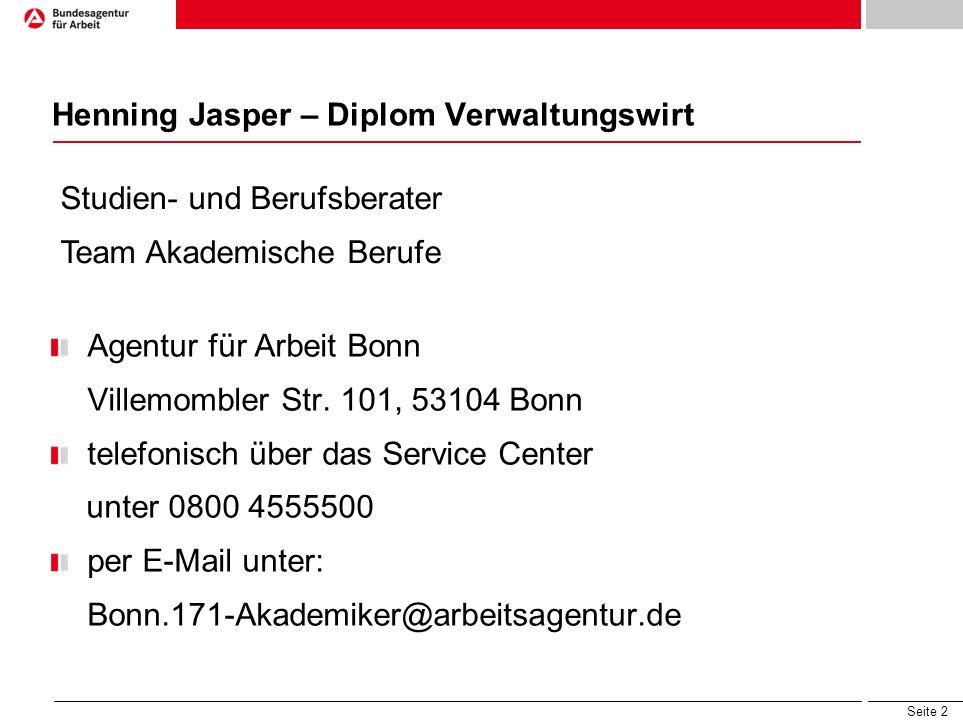 Henning Jasper – Diplom Verwaltungswirt
