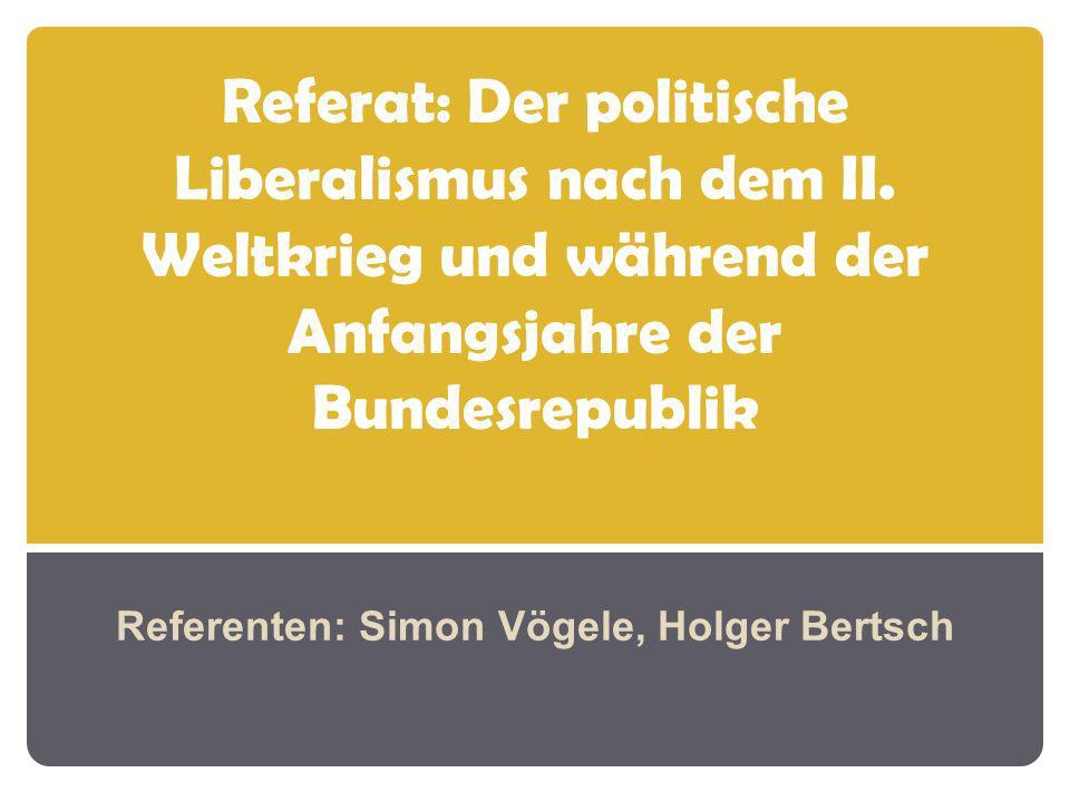 Referenten: Simon Vögele, Holger Bertsch