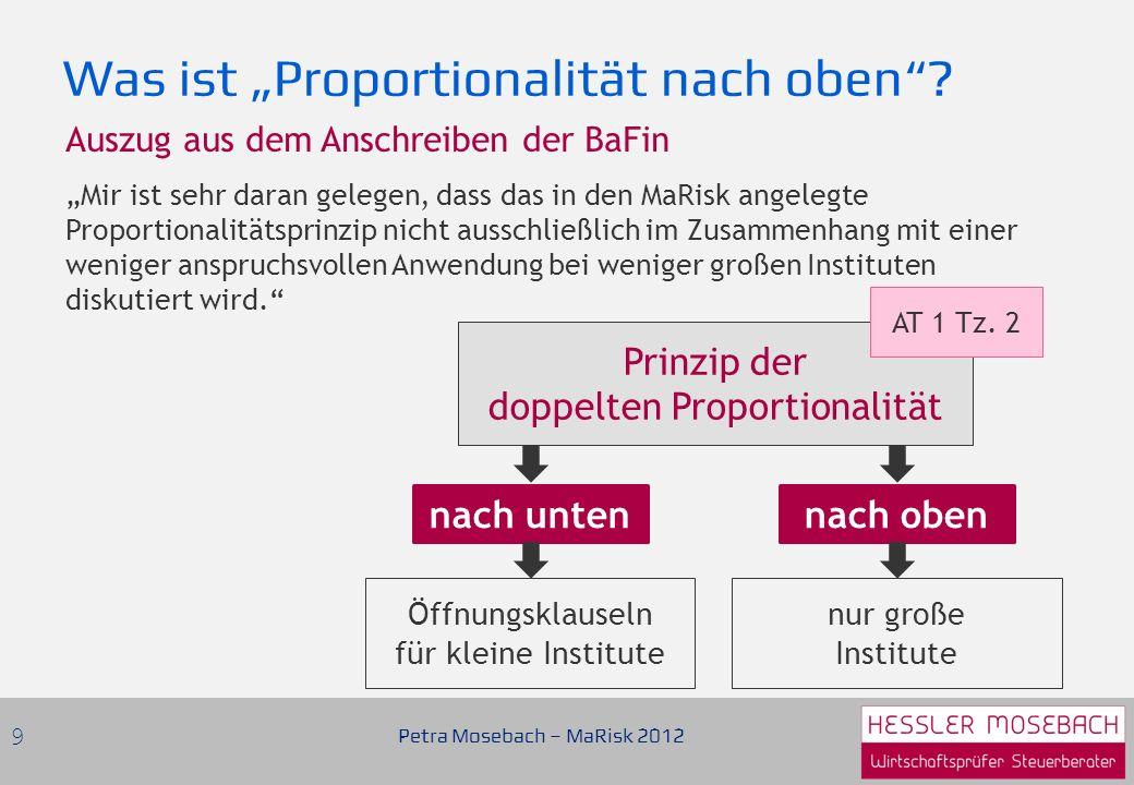 """Was ist """"Proportionalität nach oben"""