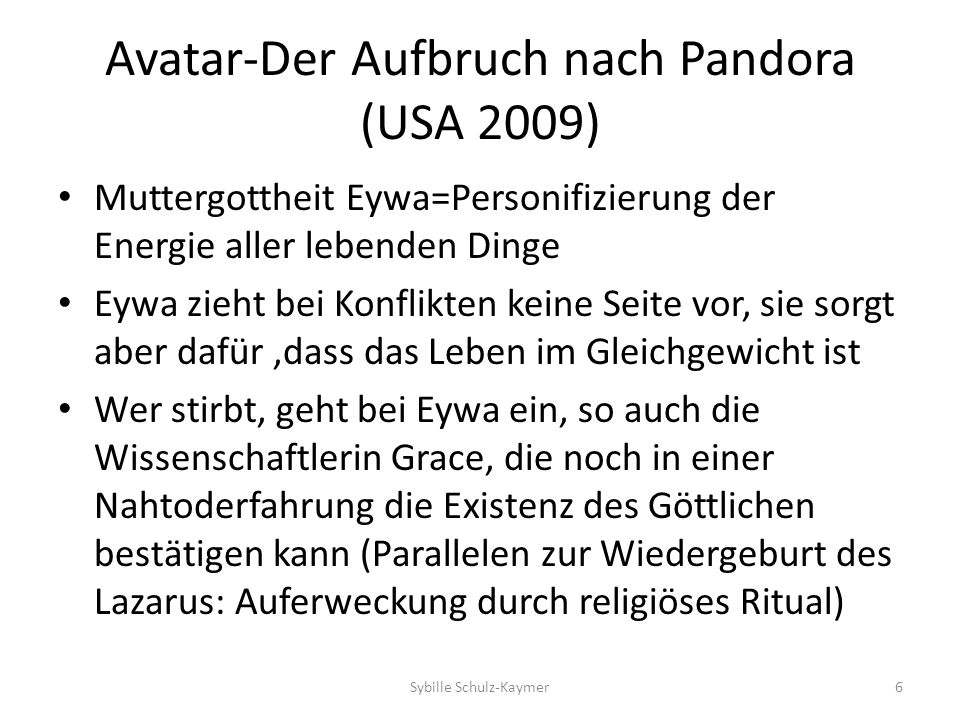 Avatar-Der Aufbruch nach Pandora (USA 2009)