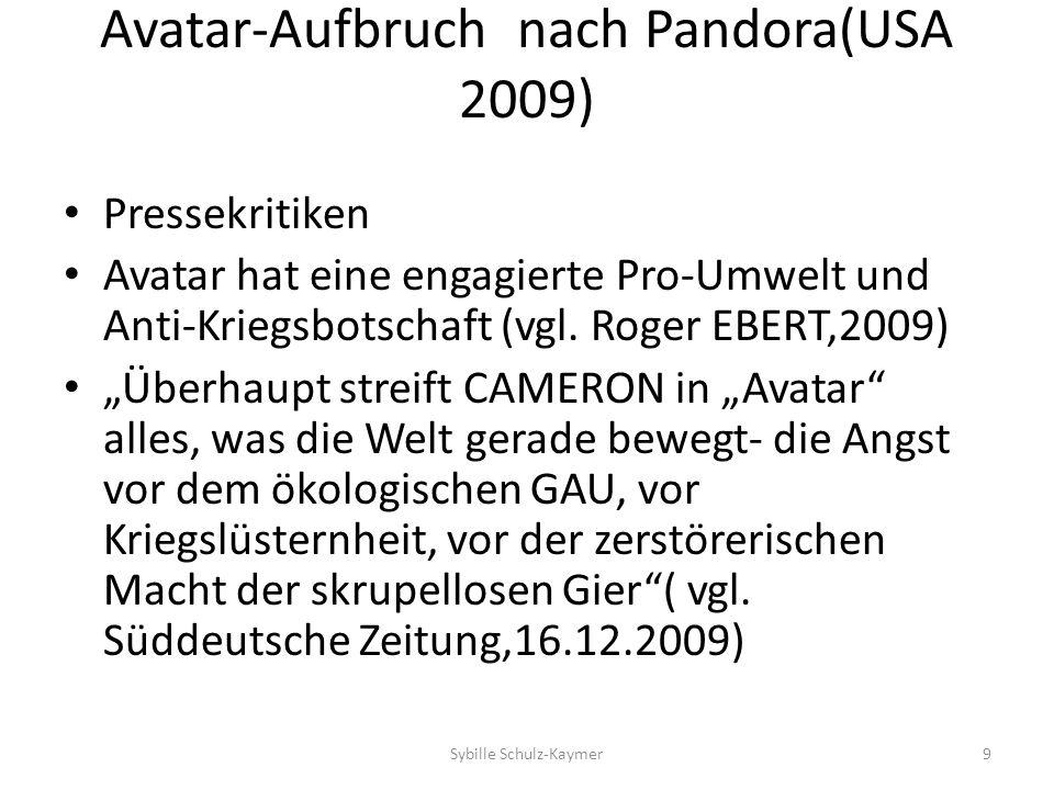 Avatar-Aufbruch nach Pandora(USA 2009)