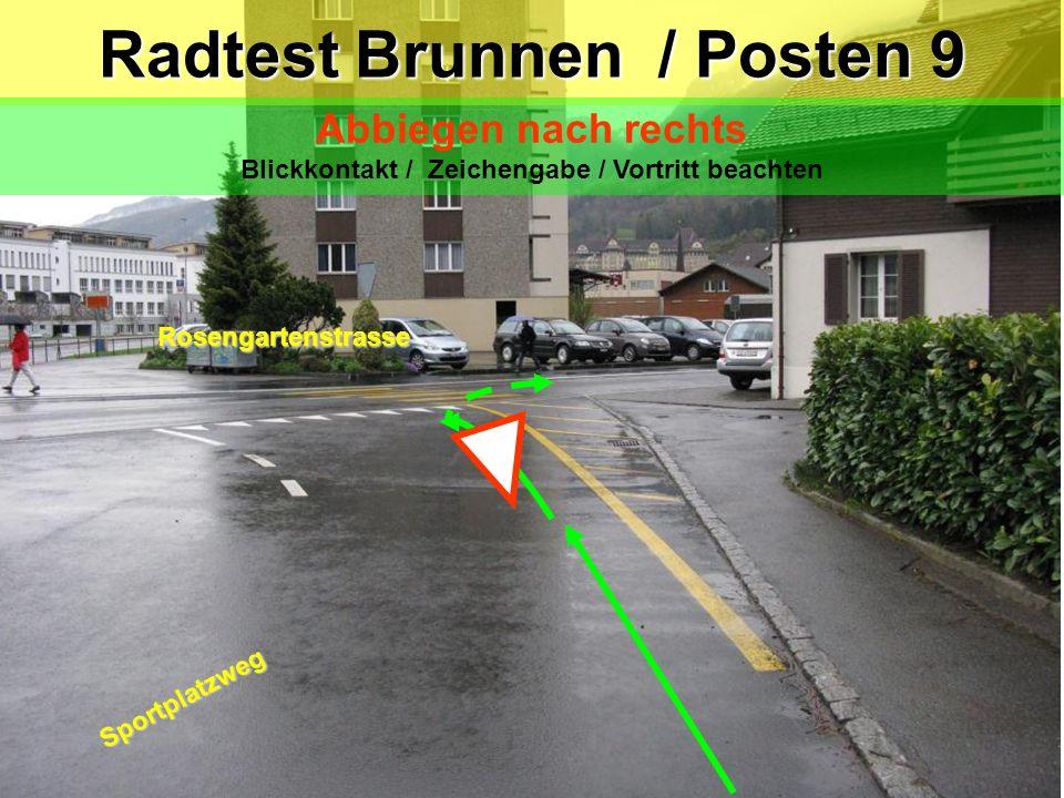 Radtest Brunnen / Posten 9