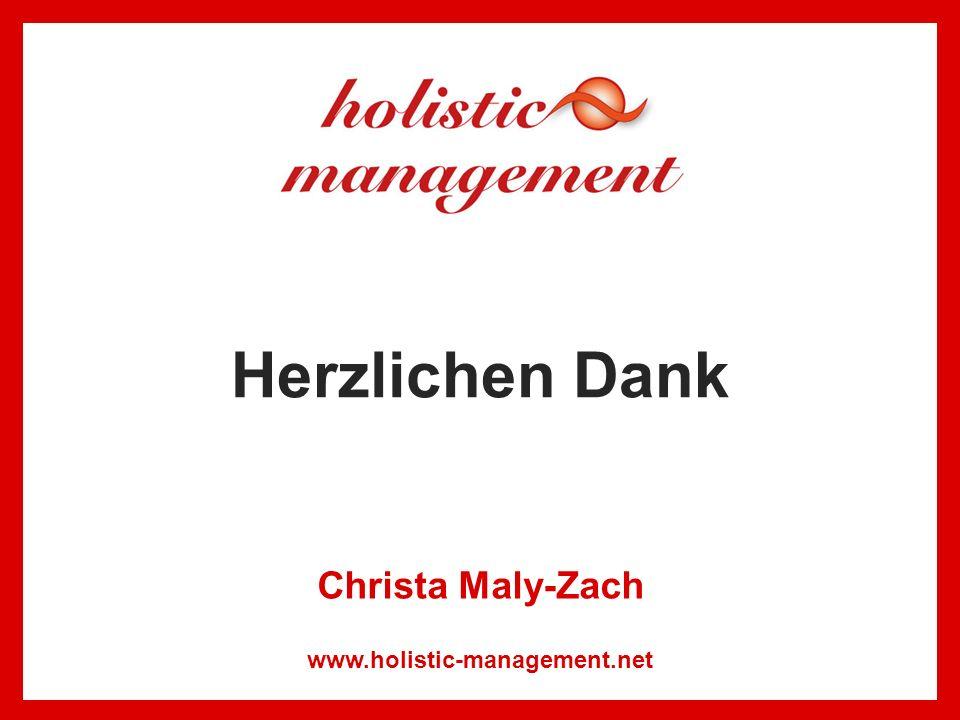 Herzlichen Dank Christa Maly-Zach www.holistic-management.net