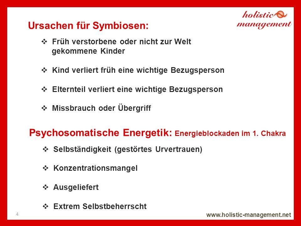Ursachen für Symbiosen: