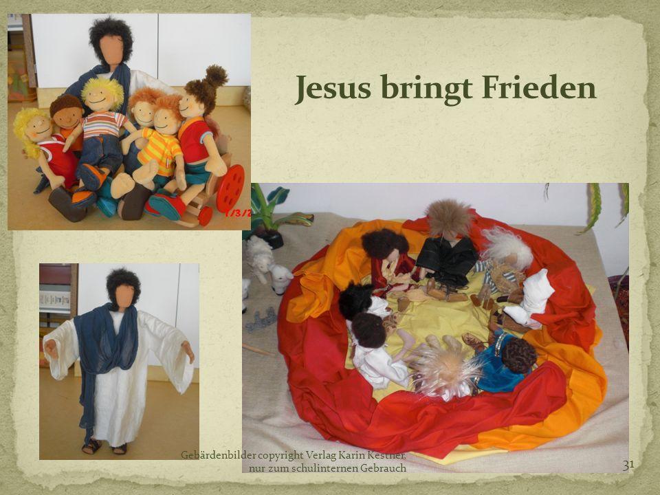 Jesus bringt Frieden bb