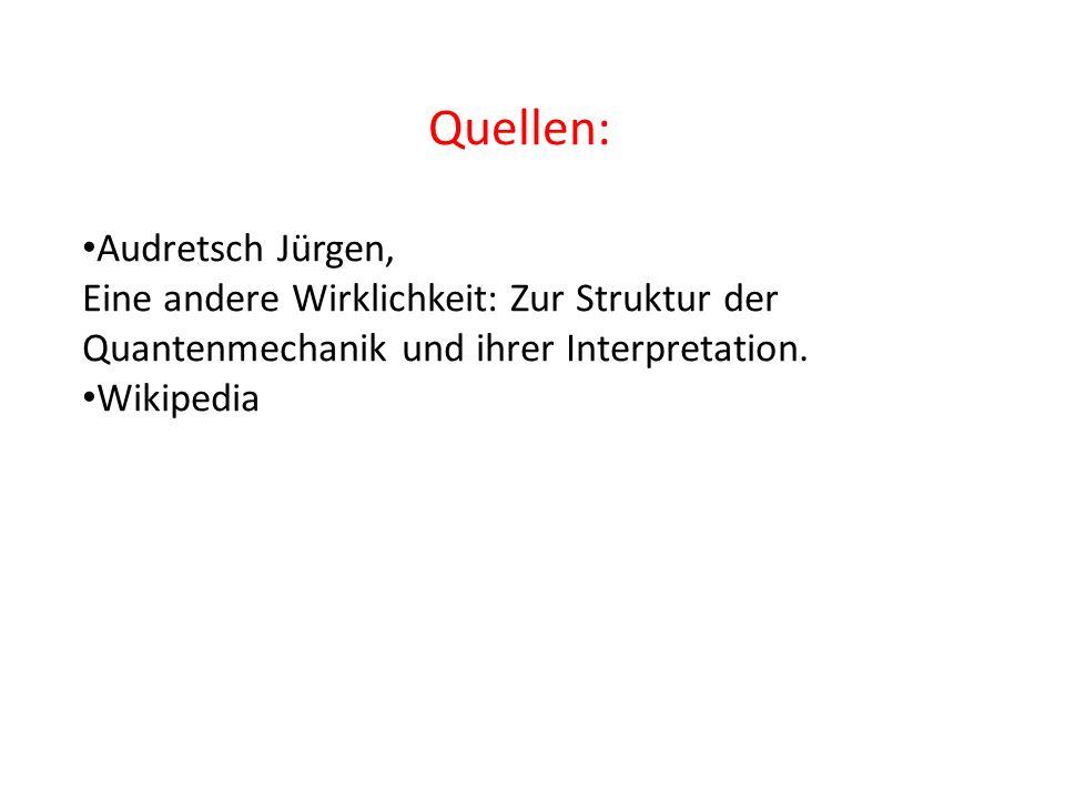 Quellen: Audretsch Jürgen,