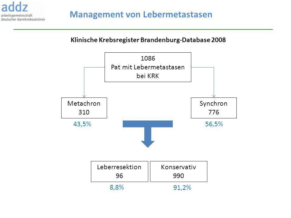 Management von Lebermetastasen