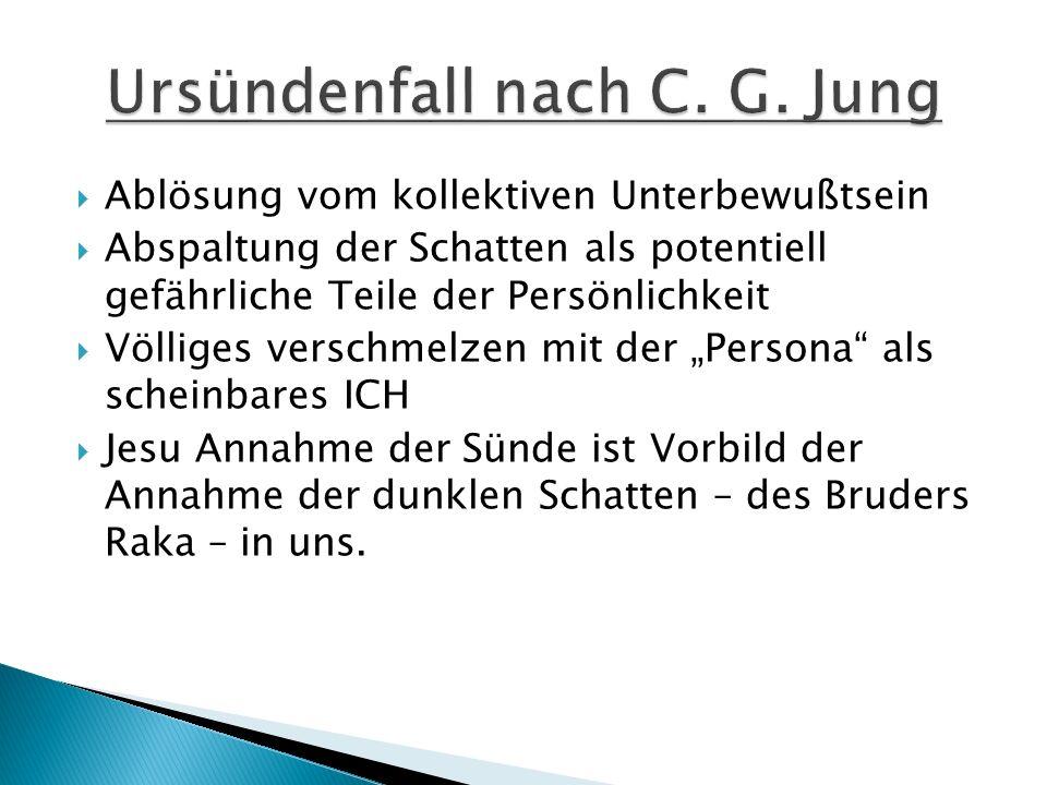 Ursündenfall nach C. G. Jung