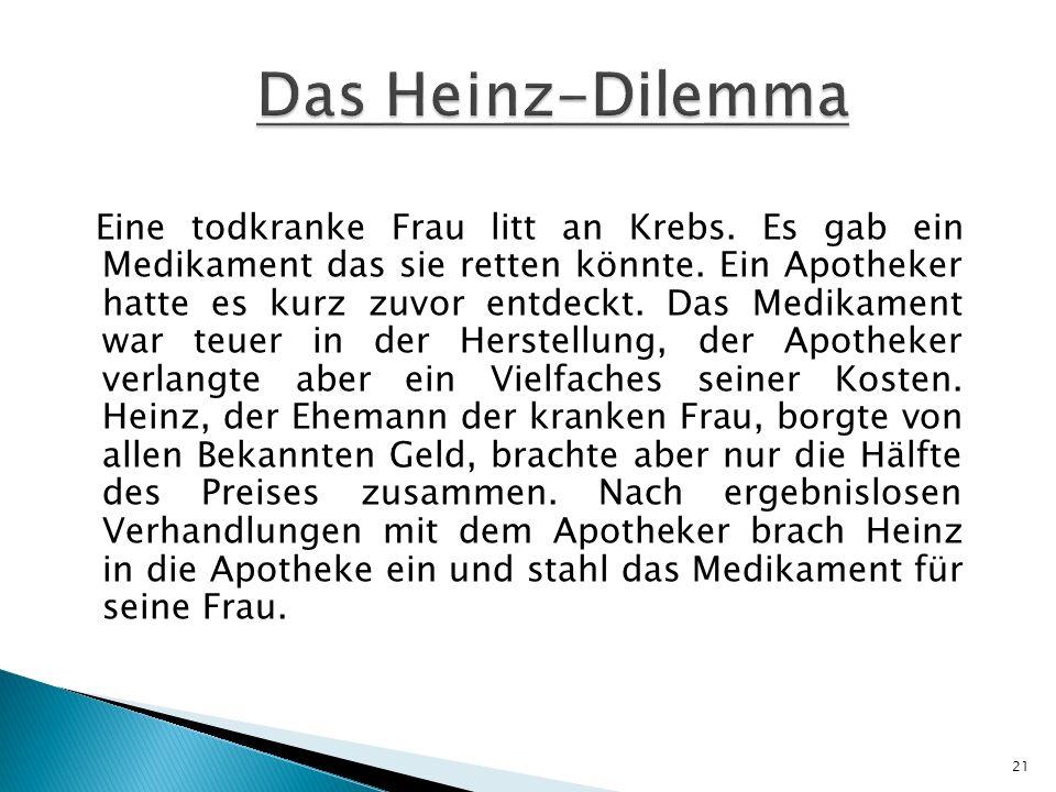 Das Heinz-Dilemma