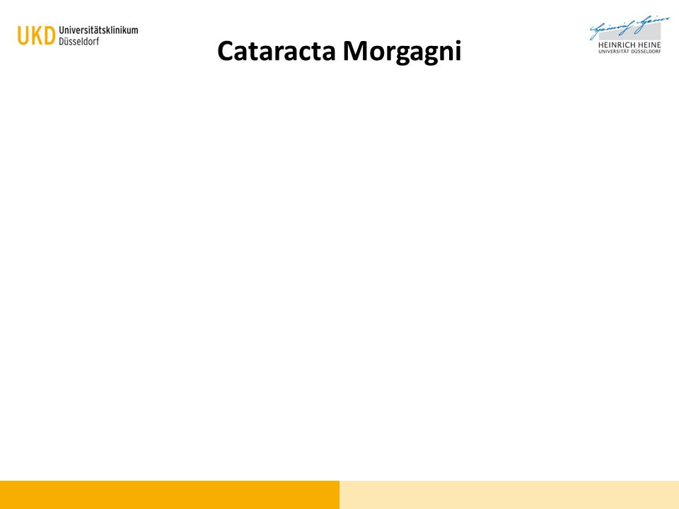Cataracta Morgagni