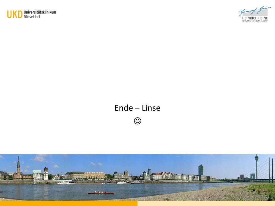 Ende – Linse 