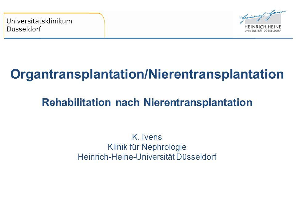 Organtransplantation/Nierentransplantation