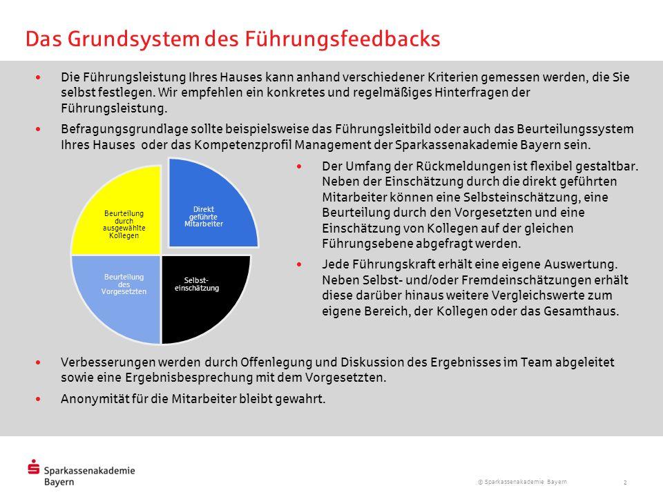 Das Grundsystem des Führungsfeedbacks