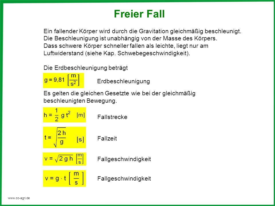 Freier Fall Geschwindigkeit Berechnen : im gravitationsfeld der erde ppt video online herunterladen ~ Themetempest.com Abrechnung