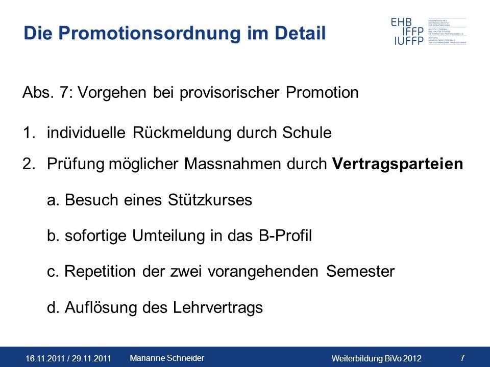 Die Promotionsordnung im Detail