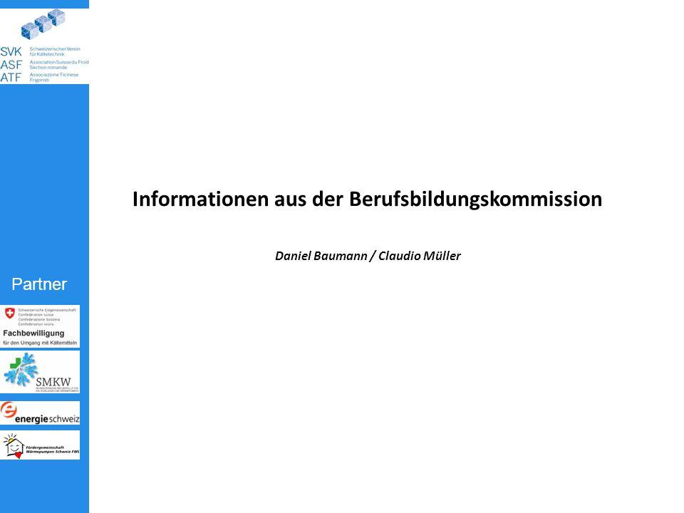 Informationen aus der Berufsbildungskommission