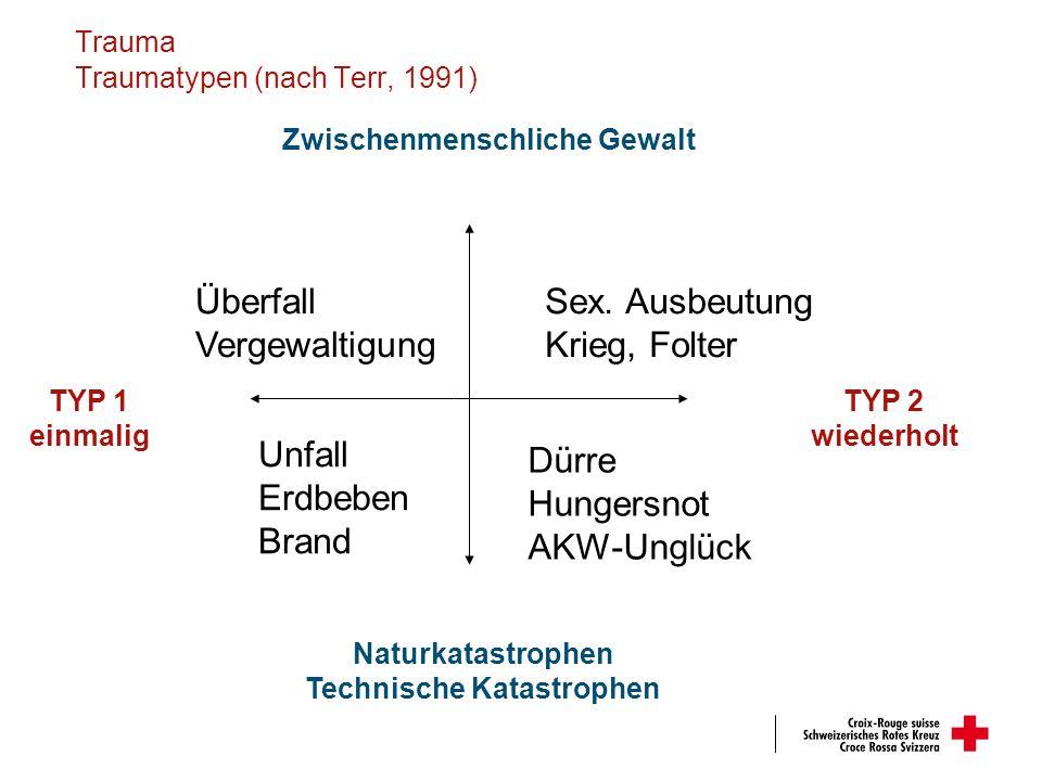 Trauma Traumatypen (nach Terr, 1991)