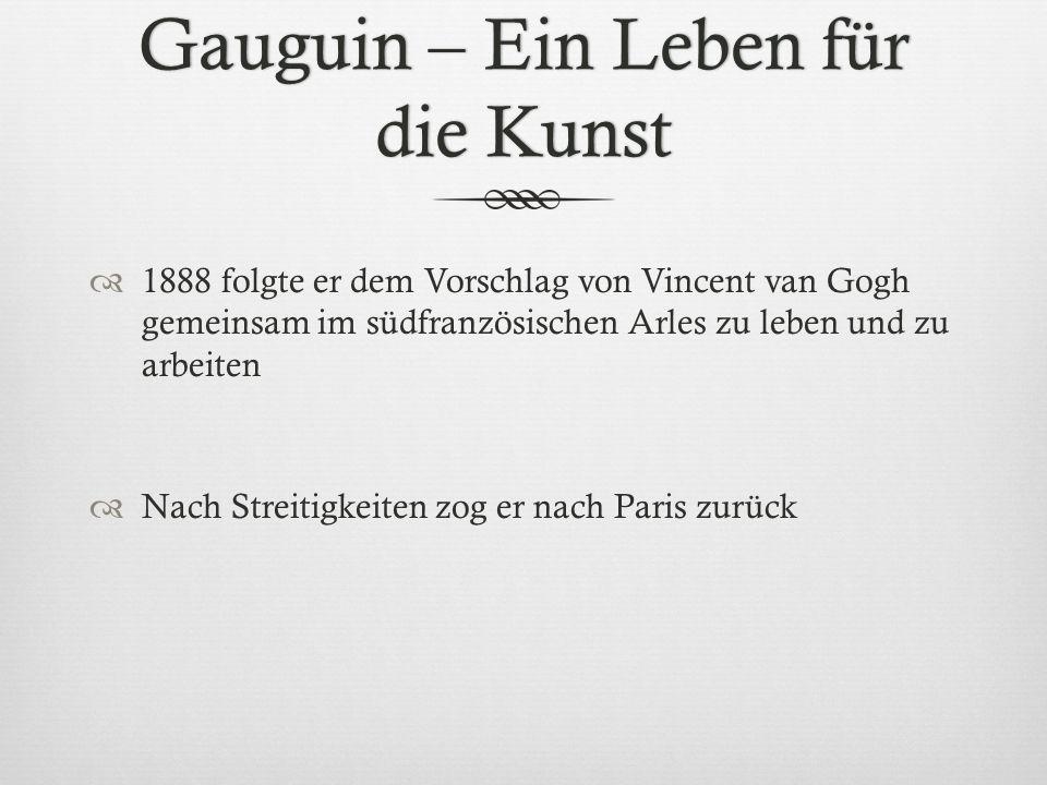 Gauguin – Ein Leben für die Kunst