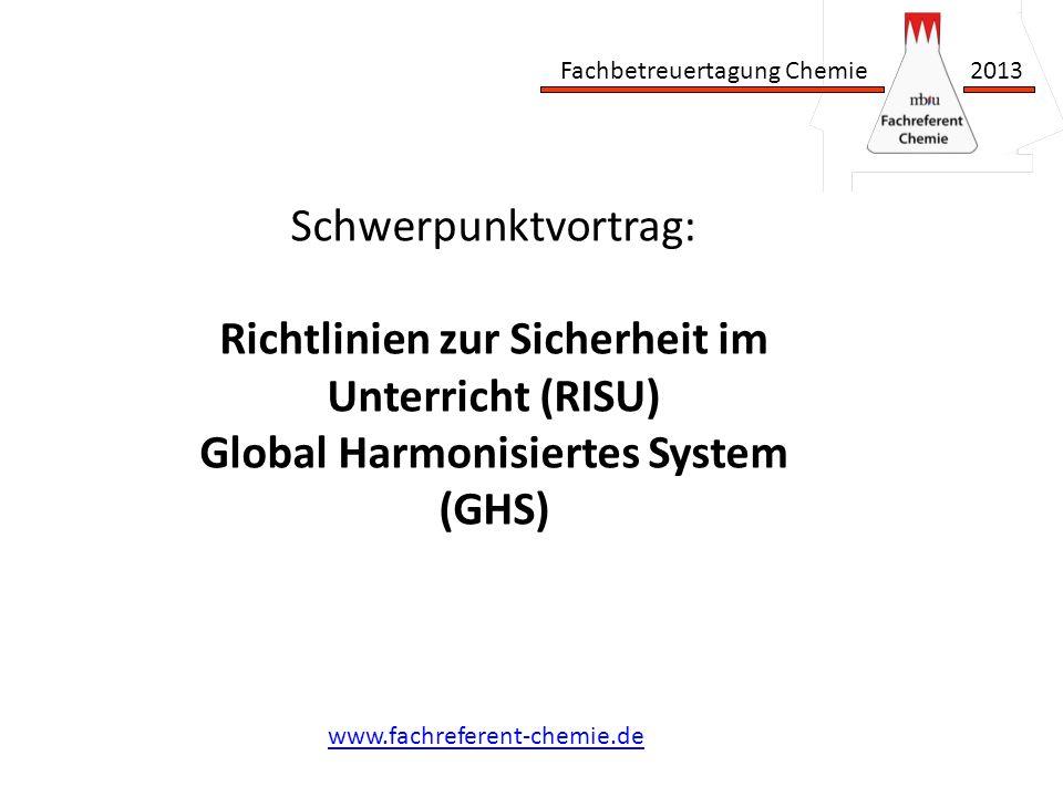 Richtlinien zur Sicherheit im Unterricht (RISU)