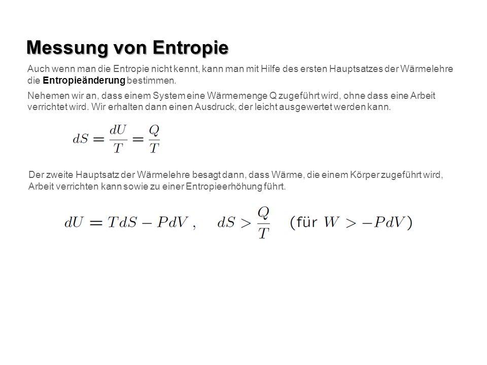 Messung von Entropie