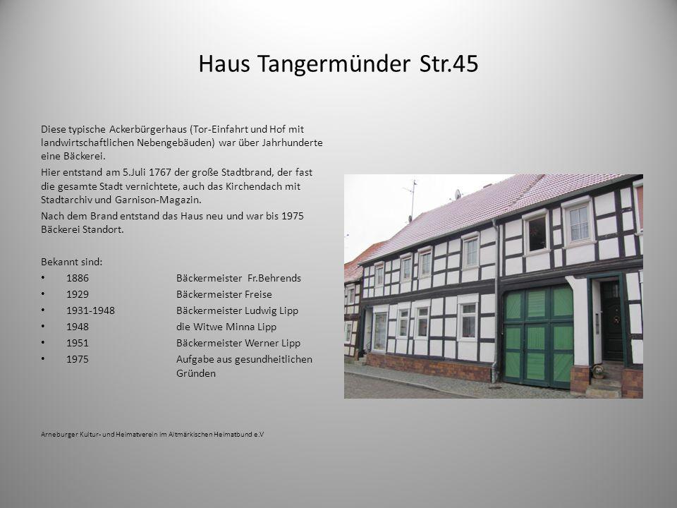 Haus Tangermünder Str.45
