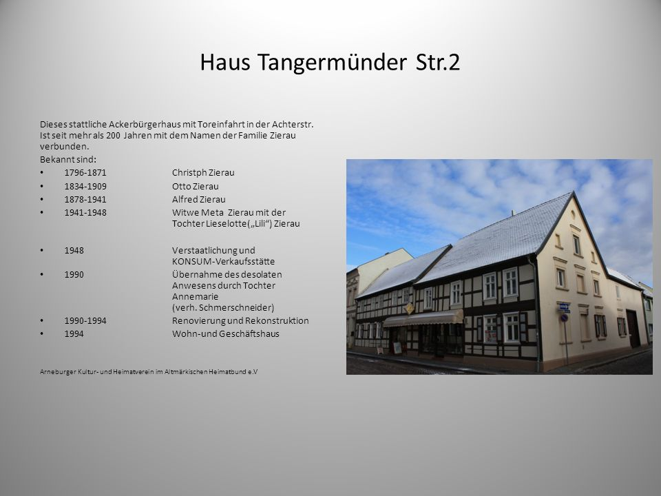 Haus Tangermünder Str.2