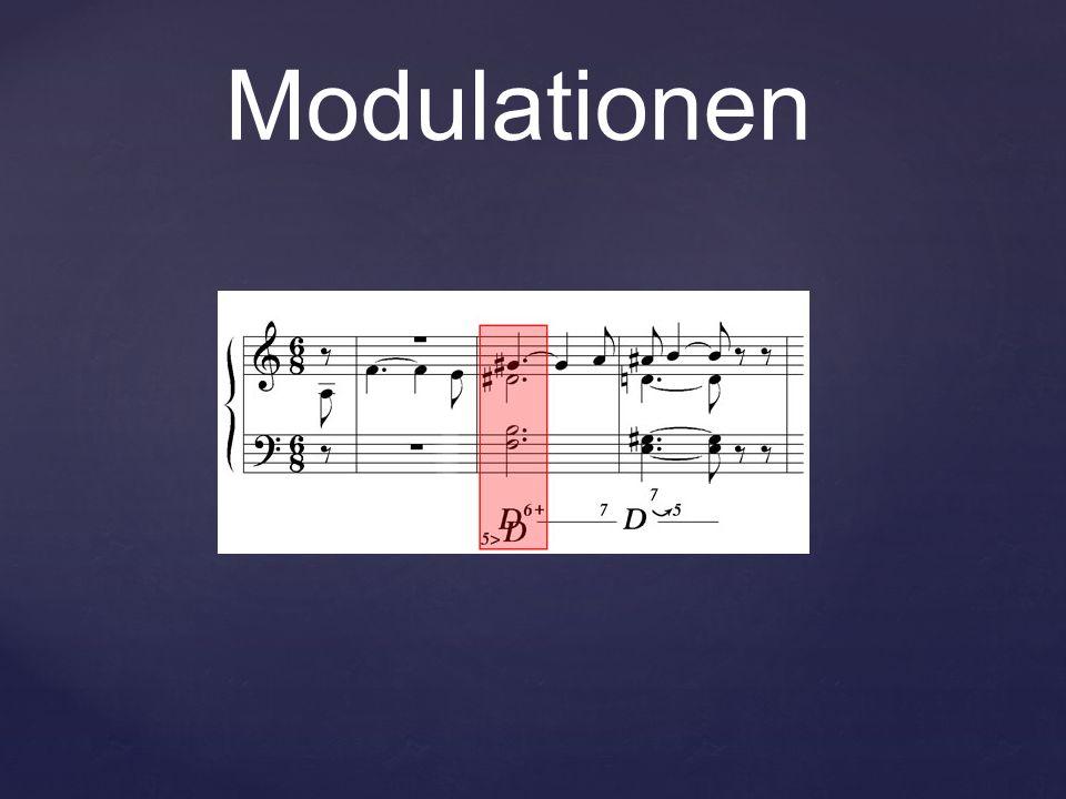 Modulationen