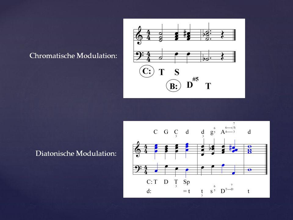 Chromatische Modulation: