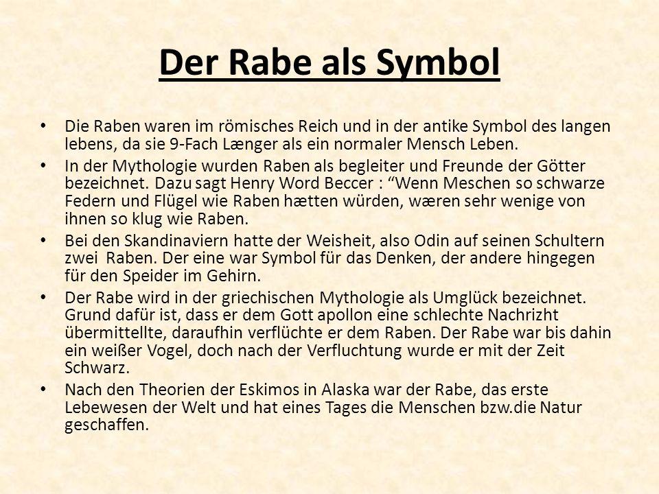 Der Rabe als Symbol