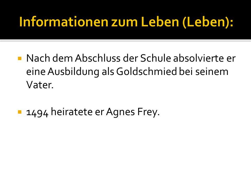 Informationen zum Leben (Leben):