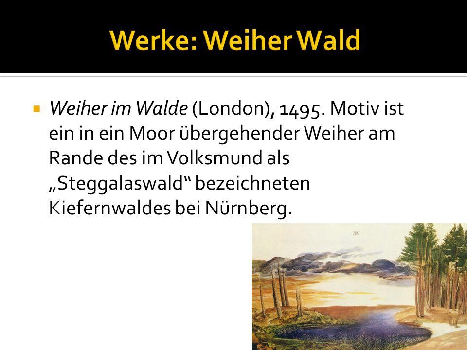 Werke: Weiher Wald