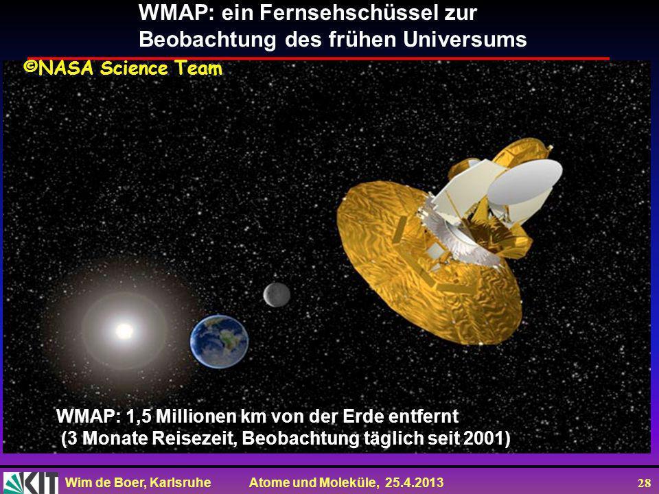 WMAP: ein Fernsehschüssel zur Beobachtung des frühen Universums