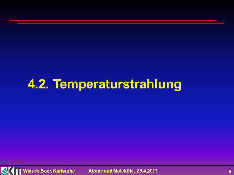 4.2. Temperaturstrahlung