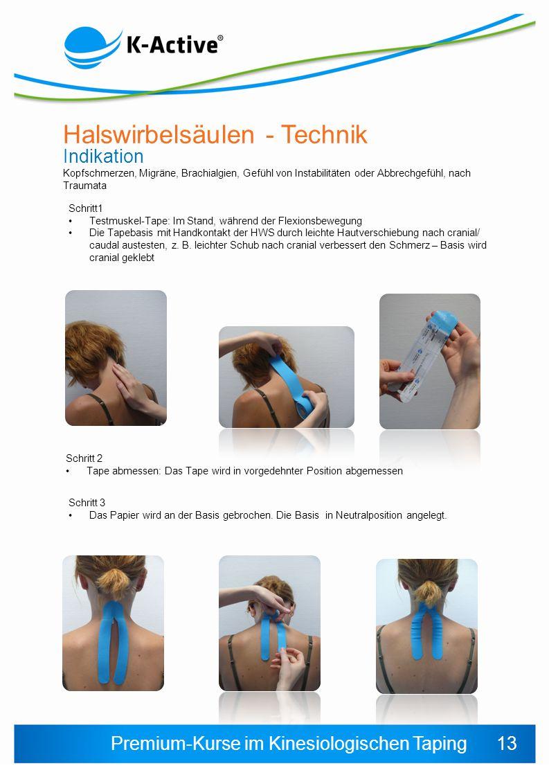 Halswirbelsäulen - Technik