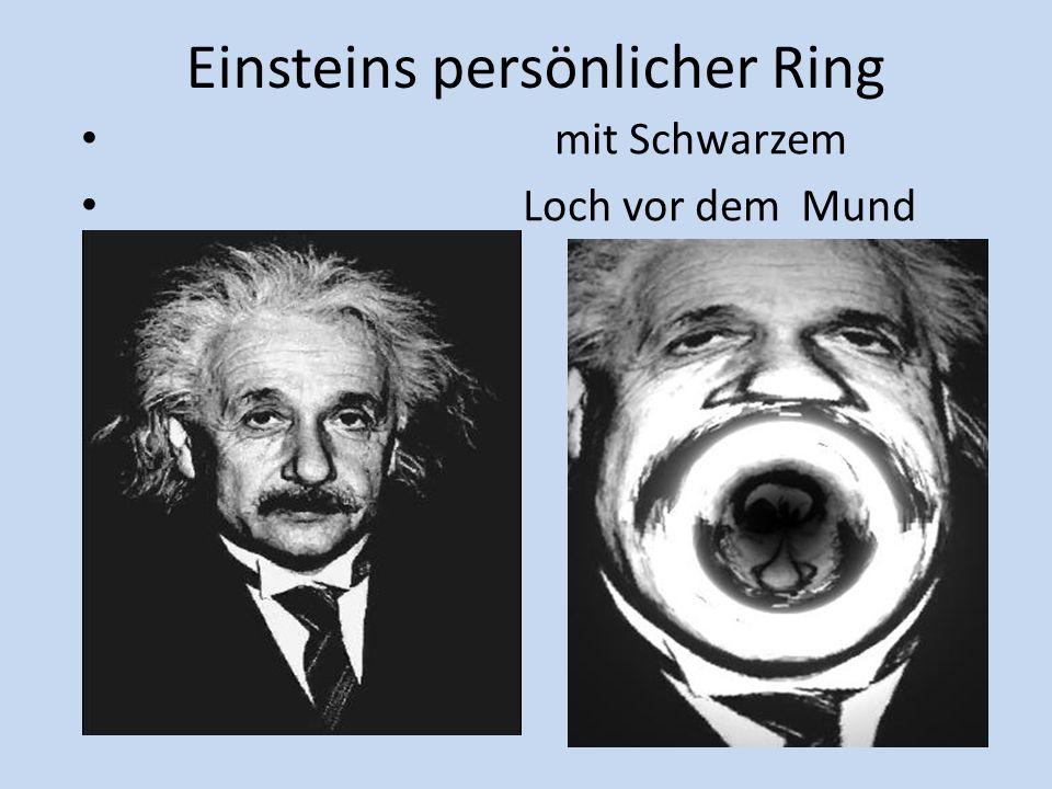 Einsteins persönlicher Ring