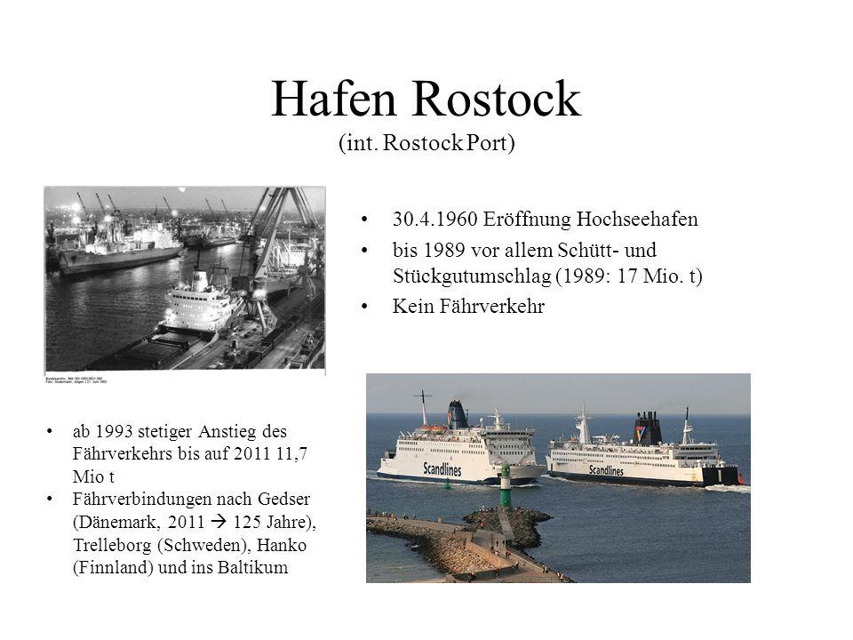 Hafen Rostock (int. Rostock Port)