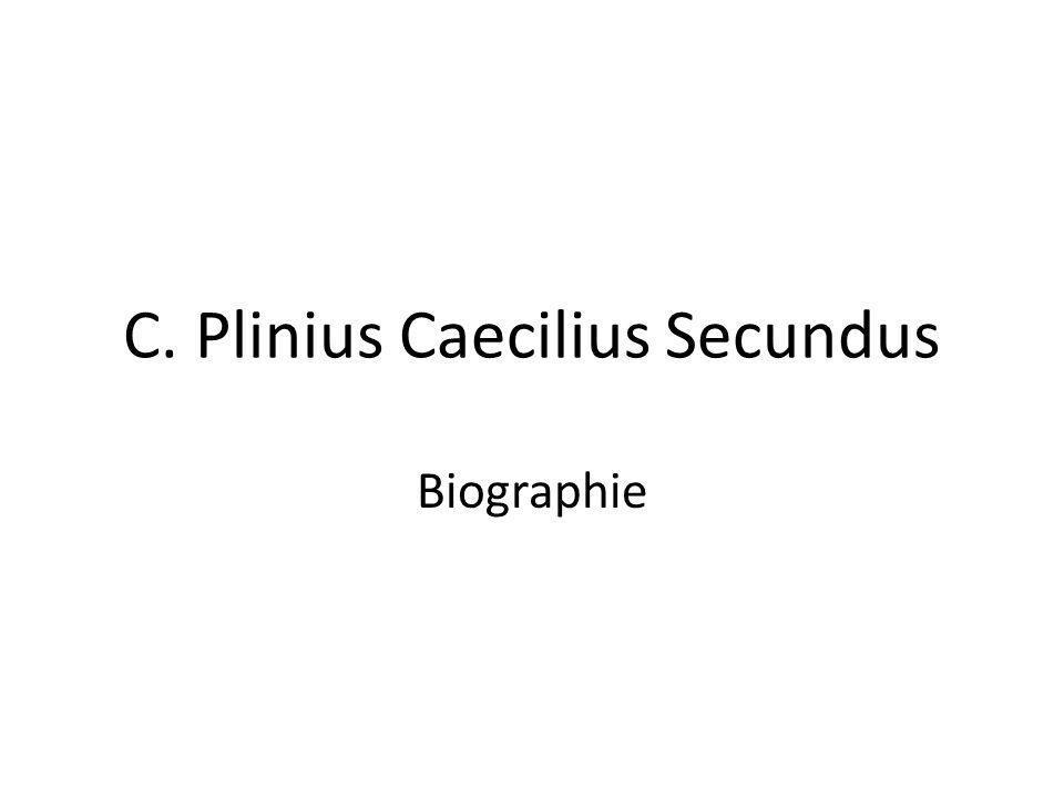 C. Plinius Caecilius Secundus