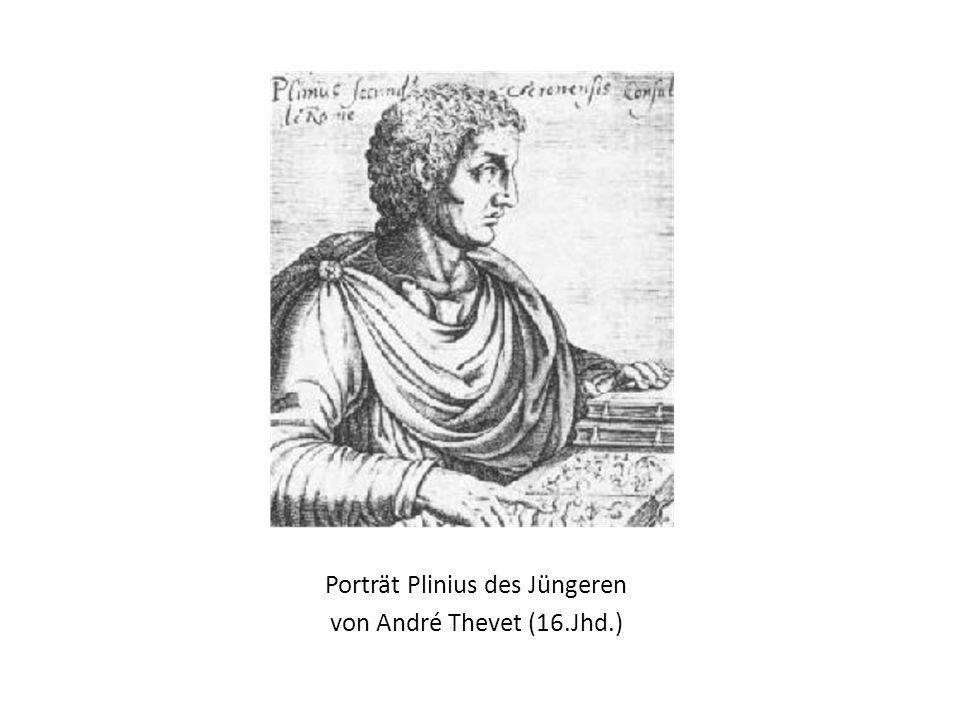 Porträt Plinius des Jüngeren