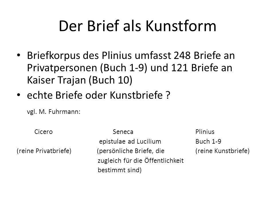 Der Brief als Kunstform